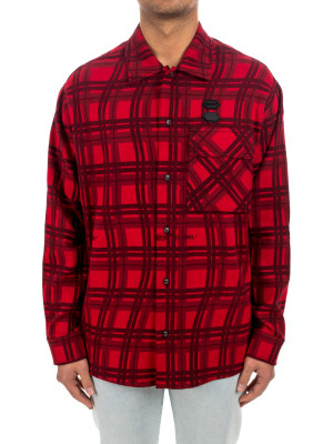 Off White flannel check shirt 421-00588