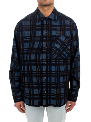 Off White flannel check shirt 421-00589