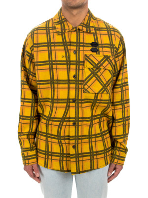 Off White flannel check shirt 421-00590