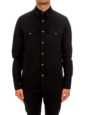 Alexander mcqueen denim shirting 421-00631