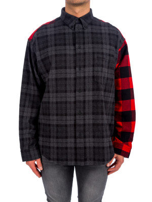 Balenciaga shirt buffalo check 421-00729