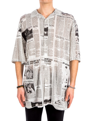 Balenciaga shirt happy news 421-00730