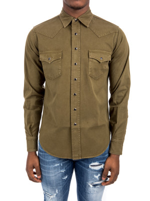 Saint Laurent classic western shirt 421-00776