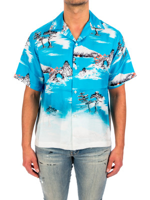 Amiri faded aloha ss shirt 421-00777