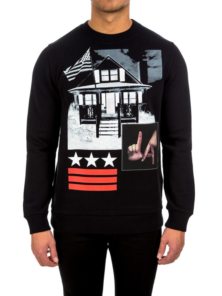 Givenchy t shirt black credomen Givenchy t shirt price
