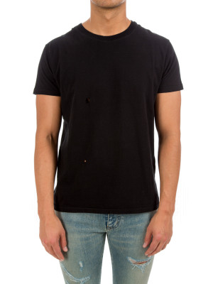 Saint Laurent Paris crew neck tshirt black 423-01070