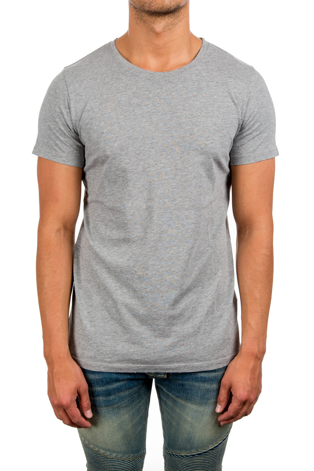 Balmain's three-pack set of white, heather grey, and black cotton jersey T-shirts are styled with a crewneck. Pulls over. Available in White/Heather Grey/Black. % cotton. Machine wash. Made in Italy. Our model is 6'1