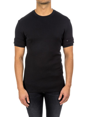 neil barrett knit t-shirt black