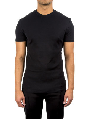 neil barrett knit jersey ts black