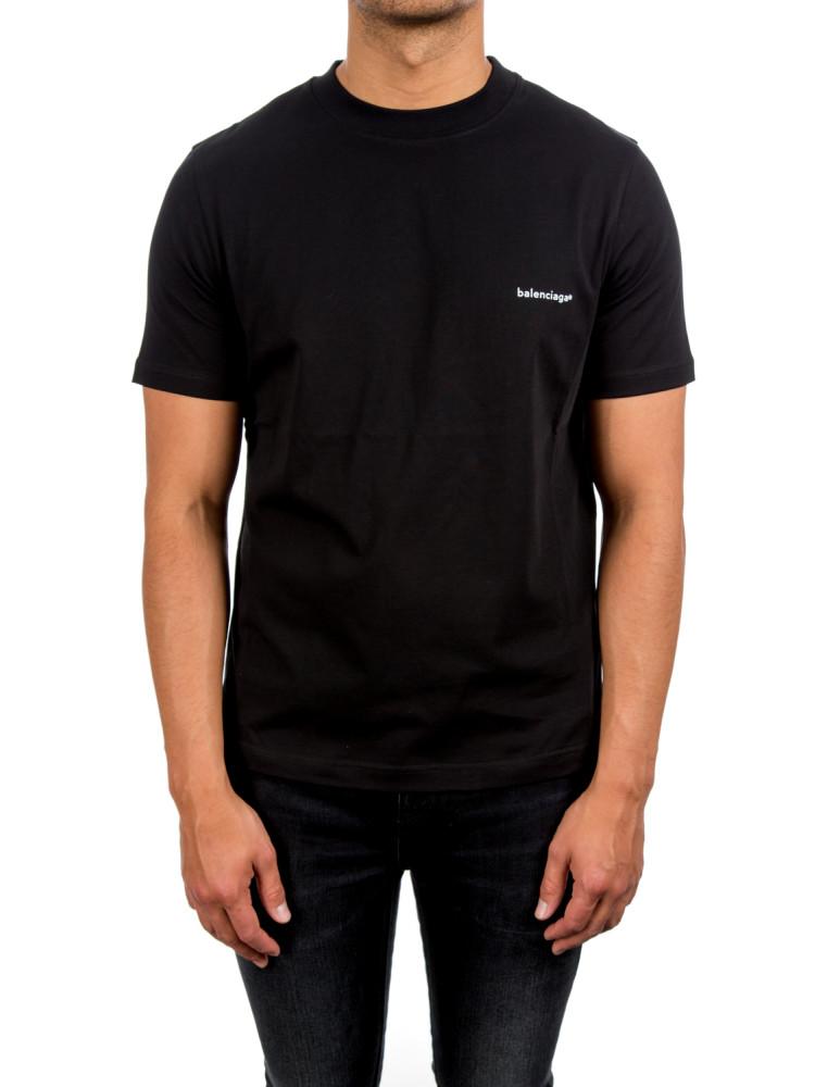 balenciaga t shirt black credomen