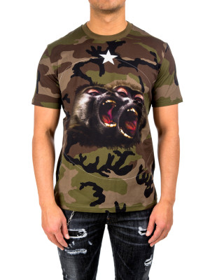 Givenchy t-shirt green 423-01552