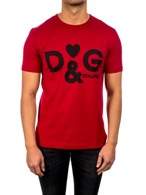 Dolce & Gabbana t-shirt m/c red 423-01573