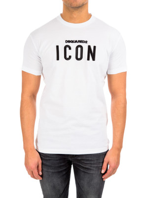 Dsquared2 long cool fit icon white
