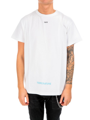 Off White diag temperature s/s white