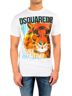 Dsquared2 long cool fit white