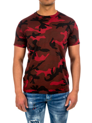Valentino t-shirt jersey red 423-01739