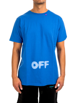 Off White blurred ss slim tee 423-01824