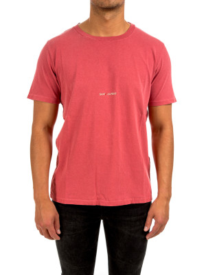 Saint Laurent t-shirt col rond des 423-01933