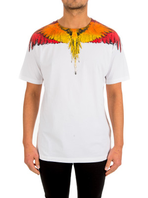 Marcelo Burlon glitch wings ts