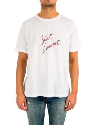 Saint Laurent t-shirt col rond 423-02155