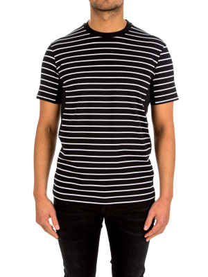 neil barrett scuba striped t-s 423-02244
