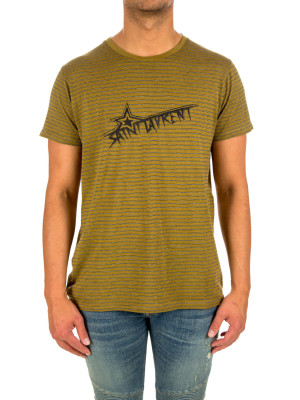 Saint Laurent t-shirt col rond 423-02377
