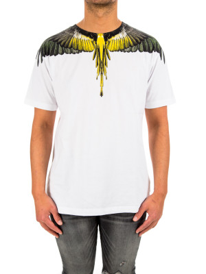 Marcelo Burlon yellow wings ts