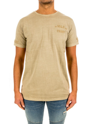 IN GOLD WE TRUST basic tee 423-02704