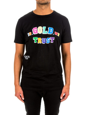 IN GOLD WE TRUST multi front print tee 423-02710