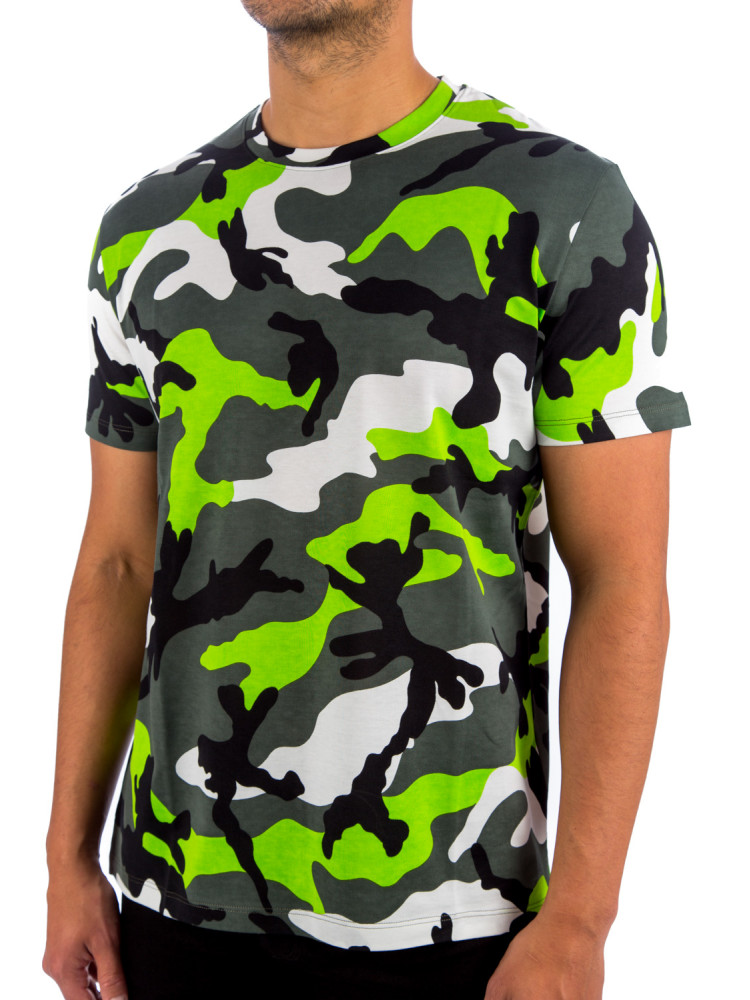 Mod Details about  /Valentino Men/'s Classic Gray Cotton Crew Neck T-shirt MV0MG08F3MH080