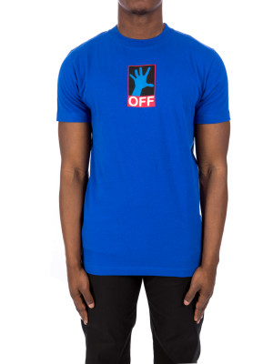 Off White 90s hand s/s slim t 423-03186