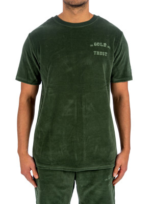 IN GOLD WE TRUST igwt velours t-shirt 423-03241