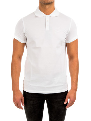 Saint Laurent embroidered polo 425-00554
