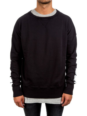 faith connexion  la sweat black 427-00331