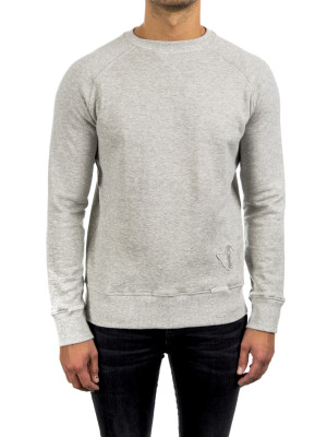 Saint Laurent Paris sweat raglan manches grey 427-00342