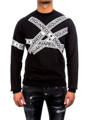 Dsquared2 dyed dean fit black 427-00382