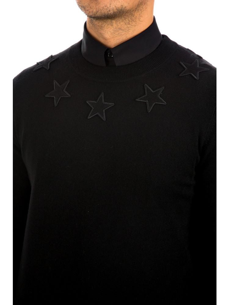 Givenchy sweater Givenchy  Sweaterzwart - www.credomen.com - Credomen