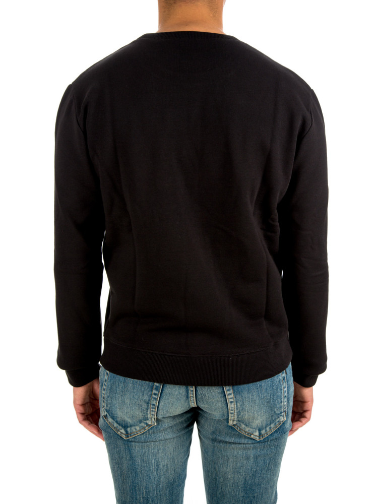 Saint Laurent sweat col rond Saint Laurent  SWEAT COL RONDzwart - www.credomen.com - Credomen