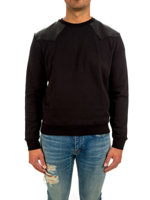 Saint Laurent sweat col rond empiè 427-00467