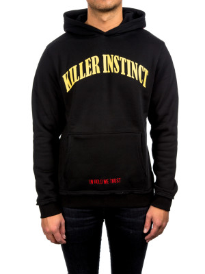 IN GOLD WE TRUST killer instinct hoodie black 428-00188