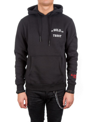 IN GOLD WE TRUST  hoodie black 428-00189