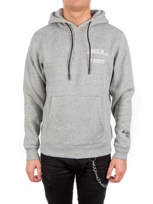 IN GOLD WE TRUST  hoodie grey 428-00190