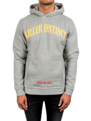 IN GOLD WE TRUST killer instinct hoodie grey 428-00214