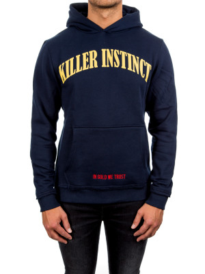 IN GOLD WE TRUST killer instinct hoodie blue 428-00215