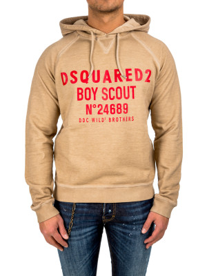 Dsquared2 hoodie classic fit camel 428-00217