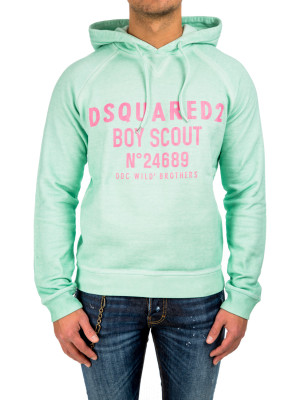 Dsquared2 hoodie classic fit blue 428-00218