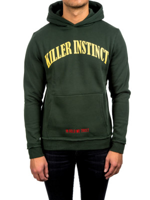 IN GOLD WE TRUST killer instinct hoodie green 428-00253