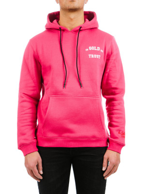 IN GOLD WE TRUST  hoodie crimson 428-00297
