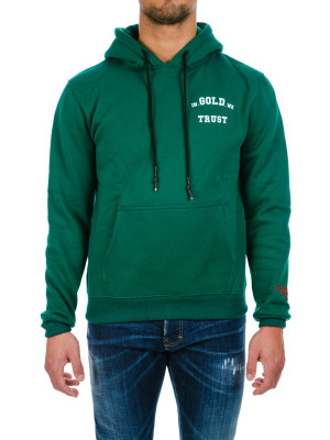 IN GOLD WE TRUST  hoodie green 428-00298