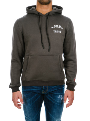 IN GOLD WE TRUST  hoodie grey 428-00299